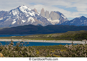 The Three Towers of Paine, Patagonia, Chile - The Three...