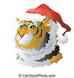 The tiger - a symbol of 2010