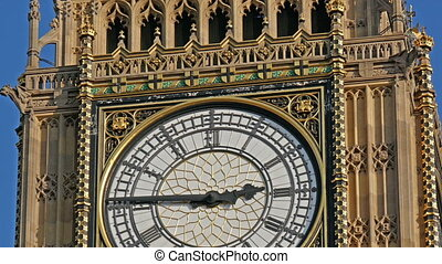 The time in Big Ben is 2 45 in the afternoon