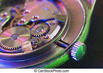 The Time Machine Watch close up macro