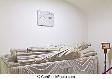 The tomb of Pope Boniface VIII