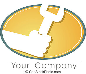 a logo to your company at work.