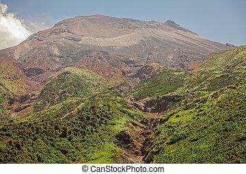 The Top Of The Tungurahua Volcano, South America - The Top...