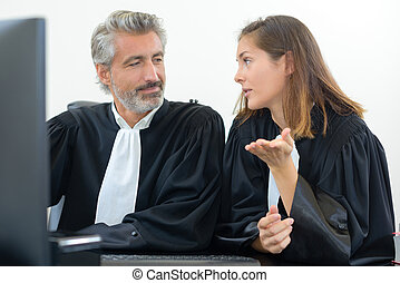 the topic of the lawyers