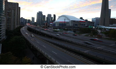 Toronto City Center at Night
