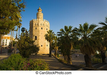 "Torre del Oro - The Torre del Oro (English: ""Gold Tower"") is..."