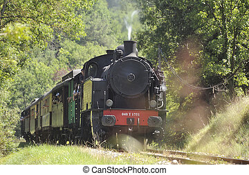 The tourist train from Anduze