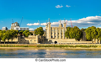 The Tower of London, UNESCO world heritage in England