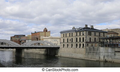 Town center of Cambridge, Ontario - The Town center of...