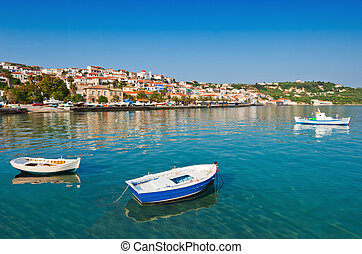 The town of Koroni, southern Greece - The fishing town of ...