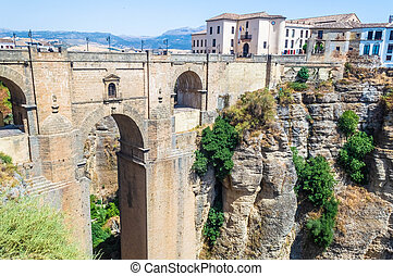 The town of Ronda, Spain