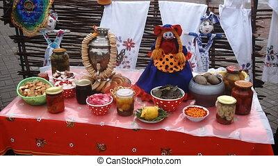 the traditional food on Shrove Tuesday,matryoshka,...