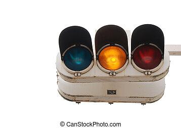 traffic stop light