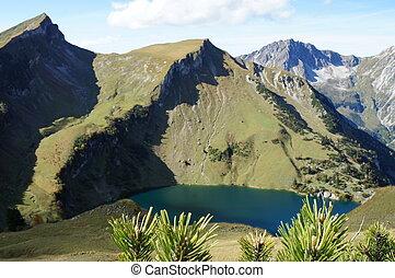 The Traualpsee in Tirol, Austria