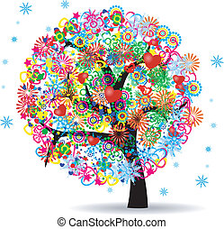 The Tree Of Life - Vector Illustration Of Tree