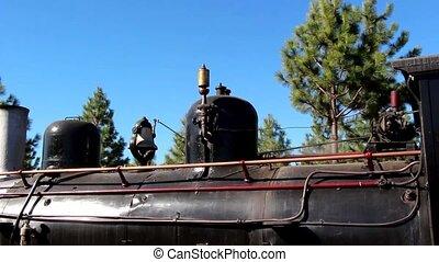 The Trochita Patagonia, steam locom - Detail Trochita...