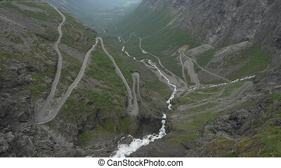 The Trollstigen, Norway - Native Material, straight out of ...
