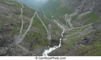 The Trollstigen, Norway - Native Material, straight out of...