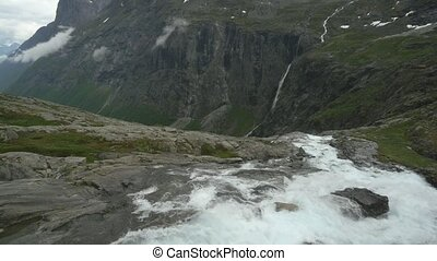 The Trollstigen, Norway - Untouched and flat material, watch...