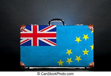 The Tuvalu flag