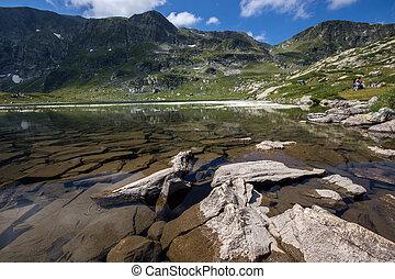 The Twin Lake, The Seven Rila Lakes