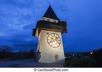 The Uhrturm in Graz