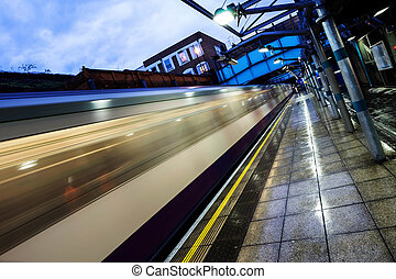 The Underground overground - London's 'tube' underground...