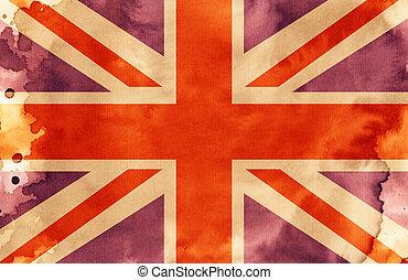The Union Jack - An illustration of the Union Jack Flag.