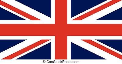 Union Jack - The Union Jack flag of Great Britain