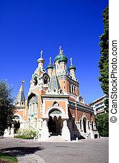 Russian Orthodox church in Nice