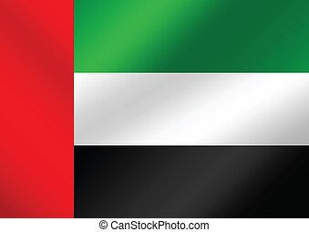 the United Arab Emirates flag theme