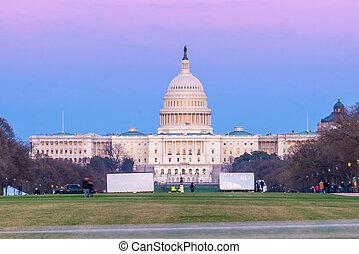 The United States Capitol building Washington, D.C.