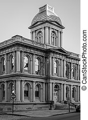 The United States Customs House in Portland, Maine