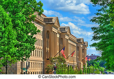 The United States Department of Commerce in Washington, D.C.