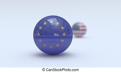 The United States is in the shadow of the European Union. EU and USA