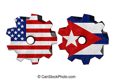 The United States of America and Cuba working together, Two...
