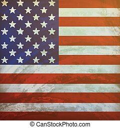 The United States of America flag