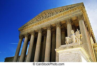 The United States Supreme Court in Washington, DC
