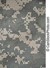 "The Universal Camouflage Pattern (UCP), also referred to as ACUPAT (Army Combat Uniform PATtern) or Digital Camouflage (""digicam"") is the military camouflage pattern currently in use in the United States Army's Army Combat Uniform."