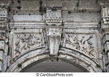 the gate Podgoretsky castle