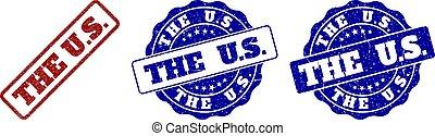 THE U.S. Grunge Stamp Seals