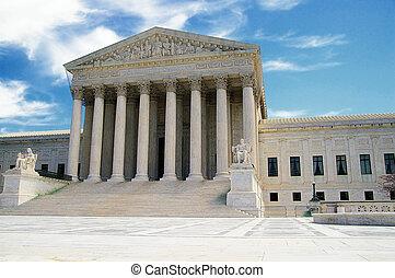 The US Supreme Court in Washington DC