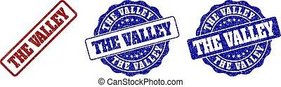 THE VALLEY Grunge Stamp Seals