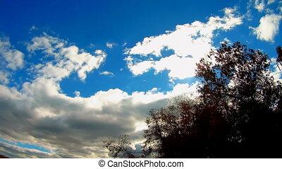 The vast blue sky and clouds sky sky clouds