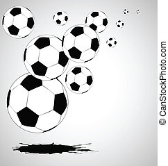 the vector abstract soccer background