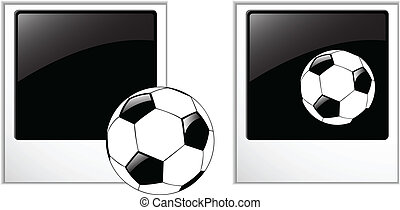 the vector blank photos set