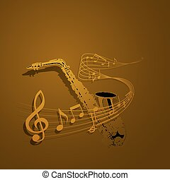 form of saxophone and notes