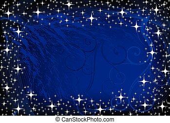 image of blue decoration