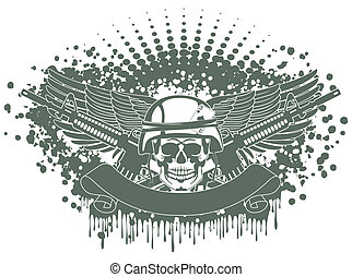 Army symbol - The vector image Army symbol