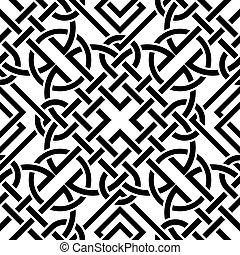 Celtic seamless pattern